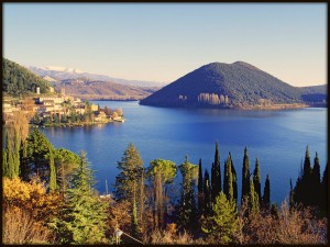 Italy, Umbria, Terni district, Piediluco lake, Travel Destination, .